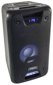IBIZA FREESOUND300 AKKU AKTIV LAUTSPRECHER BOX 300W LED BLUETOOTH USB MICRO-SD