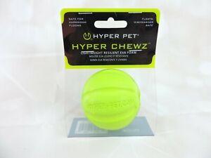 Hyper Pet Hyper Chewz Lightweight Resilient Eva Foam Ball Dog Floats Durable Toy