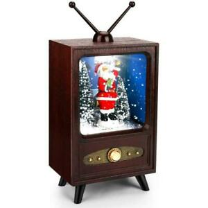 Mini TV Musicbox Christmas Music Box Collectible Display Popularity Improvement