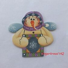 HP Snowman  wooden christmas  ornament,  handpainted, christmas crafts