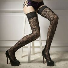 Hosiery Socks Hollow Thigh-highs Stockings Lace Pantyhose