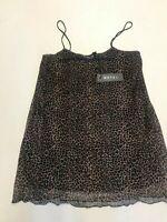 MOTEL ROCKS Sanita Dress in Rar Leopard Mesh Brown     (MR112.2)