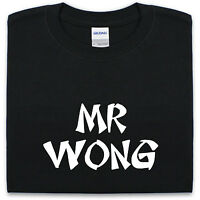 MR WONG T Shirt S-XXL Mens Womens