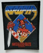 ATROPHY  SOCIALIZED HATE  WOVEN PATCH