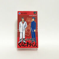 Shodai Nekketsu Koha Kunio kun Nintendo SNES Japan Version