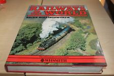 Railways of the world book by Brian Hollingsworth