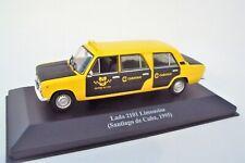 LADA  2101  LIMOUSINE - TAXI SANTIAGO DE CUBA - 1995   -   ALTAYA / IXO  -  1/43