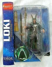 2011 Marvel Select LOKI 7 inch figure Thor Diamond Select Toys Avengers Assemble
