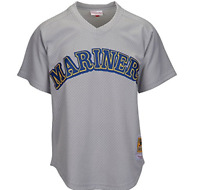 MLB Mitchell & Ness Seattle Mariners #24 Baseball Jersey New Mens Sizes MSRP $80