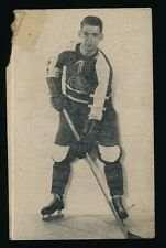 1952-53 St Lawrence Sales (QSHL) #4 GERRY DESAULNIERS (Montreal) -Canadiens