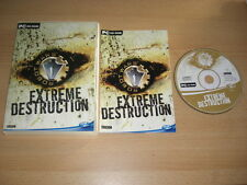 ROBOT WARS-Extreme DISTRUZIONE PC CD ROM Fast 1st Class Post
