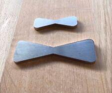 Stainless Steel Butterfly / Bowtie Inlay- for wood working