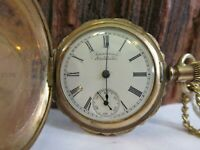 Antique Waltham Model 1891 Grade 60 J Gold Filled Winding Pocket Watch Repair L3