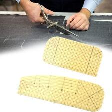 Hot Ironing Ruler Patchwork Tailor DIY Craft Sewing Supply Measuring Tool