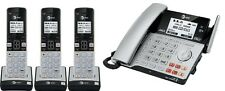 AT&T TL86103 DECT 6.0 Connect to Cell 2 LINE Cordless Phone System W 3 TL86003
