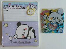 Kamio Japan Mochi Panda Kawaii Letter Set Sticker sack flakes stationery lot 2