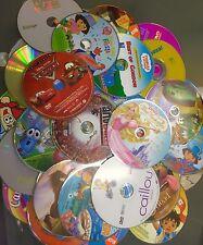 100 Kids DVD Lot Wholesale! Great For Personal Or Resale!!! Wholesale Bulk Lot