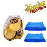Meguiar's Da Yellow Polishing Power Pads & 2 Microfibre Towels