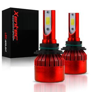 60W 159000LM H4 HB2 9003 6000K White CREE LED Headlight Hi/Lo Power Bulbs Kit