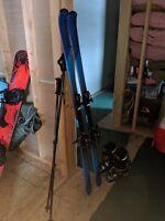 Used Blue Defiance Women's Ski Package
