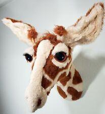 Giraffe Trophy Head Faux Stuffed Trophy Head Sculpture Merikay Mackenna