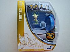 Pokemon 20th Anniversary 251 CELEBI Limited Edition Tomy Pokeball Figure Set