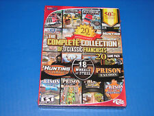 PC 20 Game Pack - 18 Wheels of Steel, Prison Tycoon , Hunting Ulimited ***NEW***