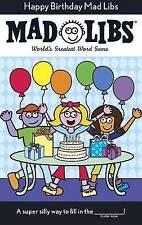 Happy Birthday Mad Libs-ExLibrary