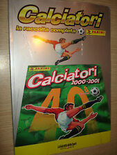 ALBUM PANINI CALCIATORI LA RACCOLTA COMPLETA 2000-01 2001 GAZZETTA DELLO SPORT