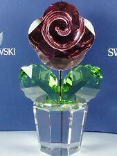 SWAROVSKI PINK ROSE, LARGE RETIRED 2008 MIB #872196
