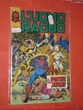 UOMO RAGNO spiderman -N° 247 -a-prima SERIE 1°- DEL 1979 -EDIZIONI CORNO- usato