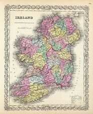 185 maps Ireland history Celtic Villages towns Genealogy old Settlements Dvd