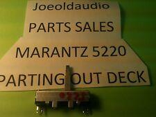 Marantz 5220 Cassette Deck MIC/LINE Control Fits Other Marantz Decks See Below**