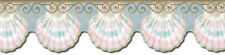 KITCHEN SEASHELLS ORNAMENT Wallpaper Border PT40006B