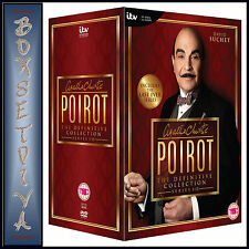AGATHA CHRISTIE POIROT-DEFINITIVE COLLECTION SERIES 1 - 13 **BRAND NEW BOXSET **