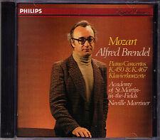 Alfred BRENDEL: MOZART Piano Concerto 15 21 Neville MARRINER CD Klavierkonzerte