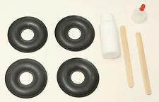 4 -Foam Donut Dust Cap Kit for KEF 103/4 104/2 104/4 105/3 107/2