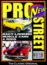 Street Racing PRO STREET,SUPER CHEVY Muscle Cars,  A MAIN EVENT ENTERTAINMENT
