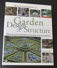DEREK FELL GARDENING BOOK Garden Design & Structure Ideas & Inspiration HARDBACK