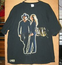 Tim Mcgraw & Faith Hill Soul 2 Soul Tour 2007 T Shirt Xl