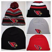 5dd8bad1cdd Arizona Cardinals New Era Beanies ~Knit Hat~Classic NFL Patch Logo ~Cool