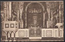 London Postcard - Screen & Pulpit, The Guards Chapel, Wellington Barracks RS2628