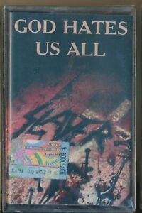 Slayer god hates us all 2001 Russia Cassette sealed