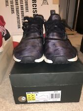Bape x Adidas NMD R1 Black Camo Boost Size 9 With Recipe Vnds