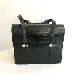 Authentic Yuul Yie Bag black Croc
