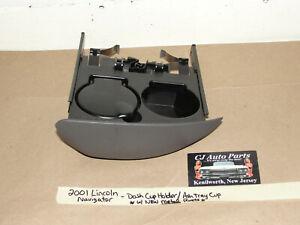 OEM 2001 Lincoln Navigator DASH CUP HOLDER ASHTRAY ASH TRAY w/ NEW METAL RIVETS