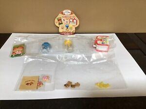 Re-Ment Mini Mushroom Paradise #4 Mushroom Bag - Cookies Candies Jar Sweet Lunch