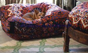 "Mandala Large Floor Cushion Cover Square Pillow Case Indian Pure Cotton Sham 35"""