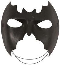 Unisex LADIES MENS DOMINO SHAPE SUPER HERO BATMAN EYEMASK MASQUERADE FANCY DRESS