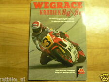 WEGRACE KRONIEK 1988/89,COVER LAWSON YAMAHA YZR500,GARDNER,MARTINEZ,PONS MOTO GP